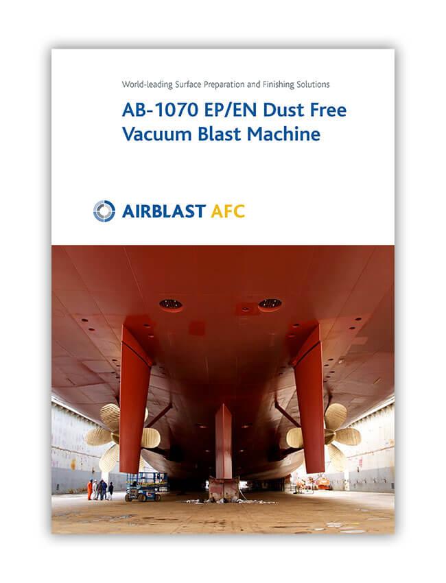 Airblast AFC Dust Free Vacuum Blast Machine Brochure