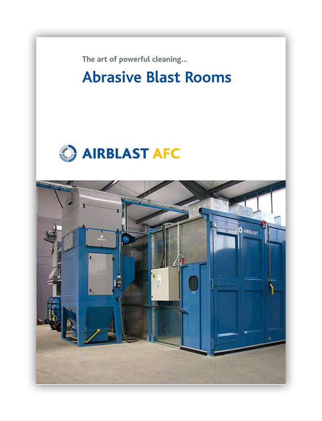 Airblast AFC Blast Rooms Brochure Cover