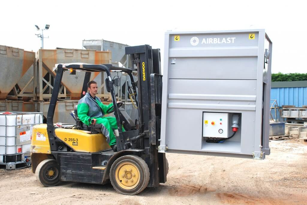 Airblast AFC Portable Abrasive Recovery Vacuum