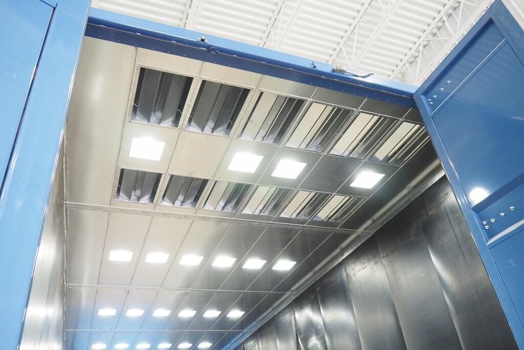 Airblast AFC Blast Room Air Inlet System