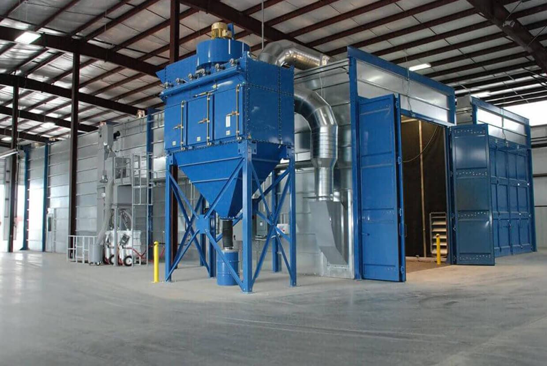 Airblast AFC Modular Blast Room