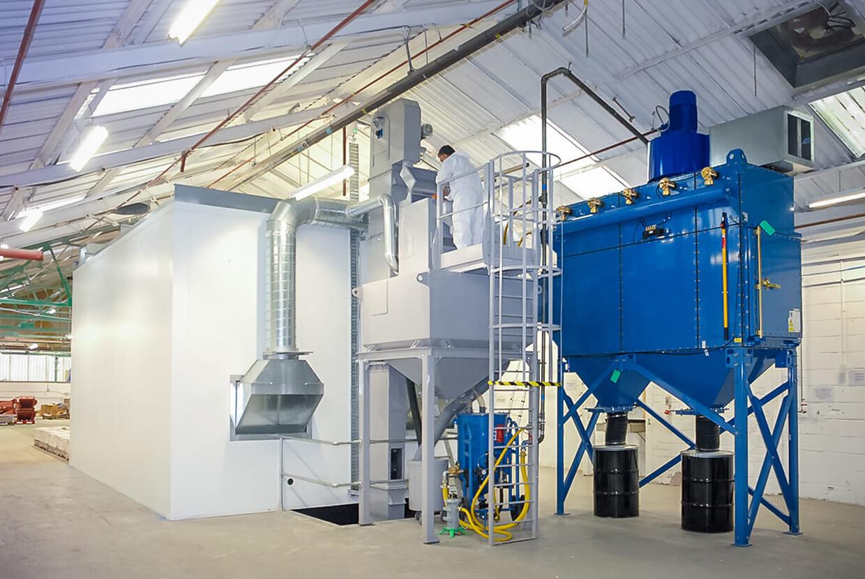 Airblast AFC Rapid Recovery Large Capacity Abrasive Storage Elevators