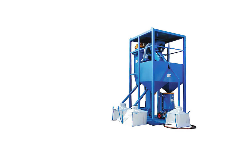 Airblast AFC Portable Garnet Recycler