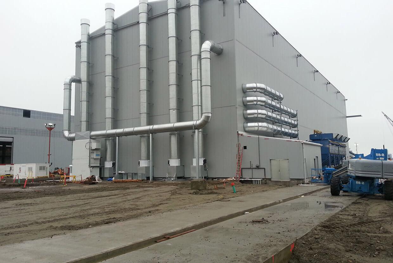 Airblast AFC Design and build marine blast room